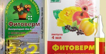 Препарат Фитоверм для борьбы с вредителями