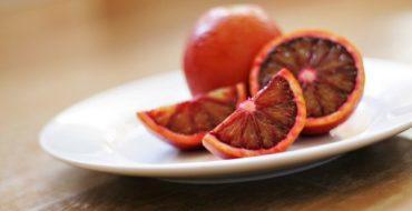 Гибридный вид красного апельсина