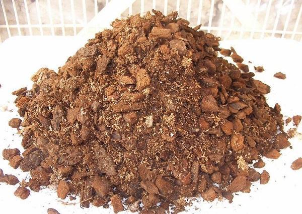 Почва, приготовленная для орхидеи