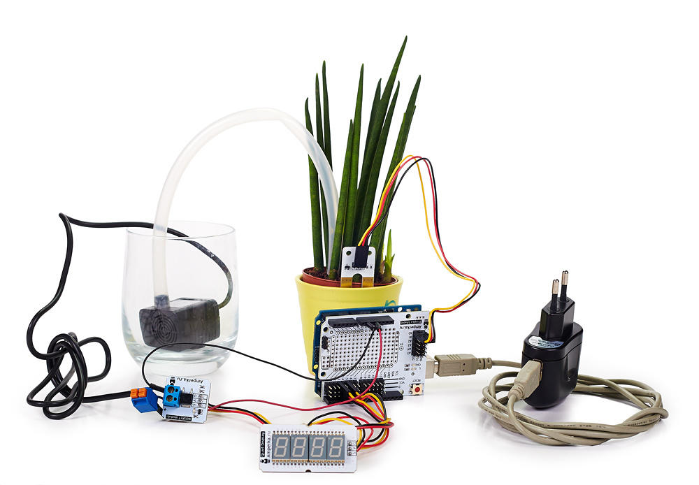 Автополивщик растений на Arduino