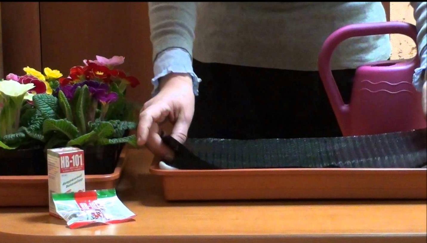 Капиллярные маты для полива цветов